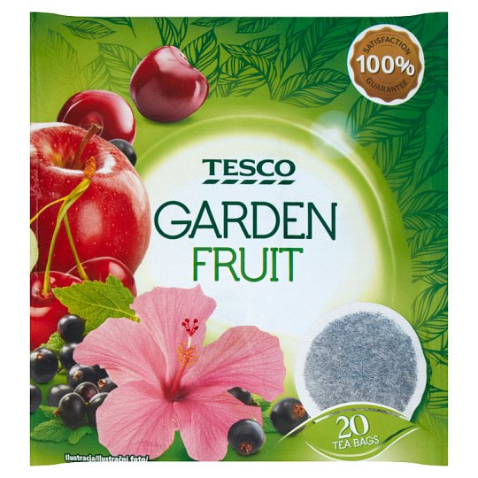 Tesco Mixed Fruit Flavoured Fruit Tea 20 Tea Bags 40 g