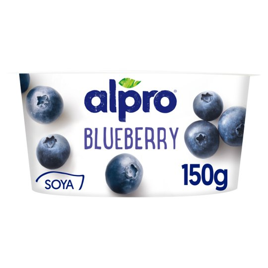 Alpro Vegetable Based Product with Blueberry and Yogurt Cultures 150 g
