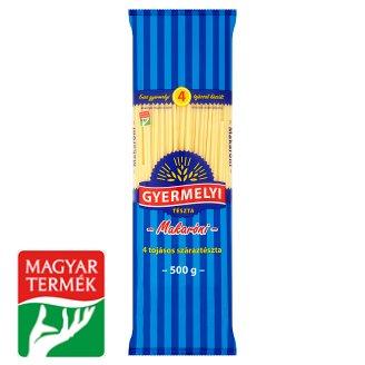Gyermelyi Macaroni Dry Pasta with 4 Eggs 500 g