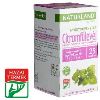 Naturland Herbal Lemongrass Leaf Herbal Tea 25 Tea Bags 25 g
