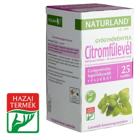 Naturland Herbal citromfűlevél gyógynövénytea 25 filter 25 g