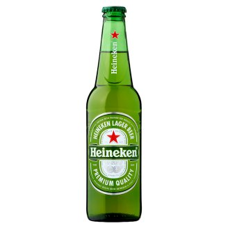 Heineken Premium Quality Lager Beer 5% 0,4 l Bottle