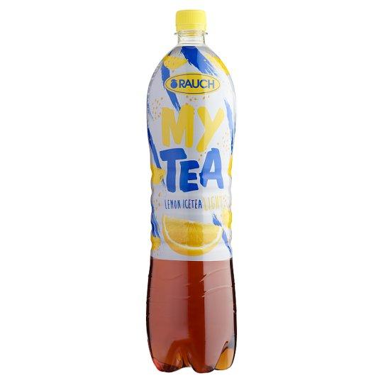 Rauch My Tea Ice Tea Light citromos üdítőital fekete teából cukorral és édesítőszerekkel 1,5 l