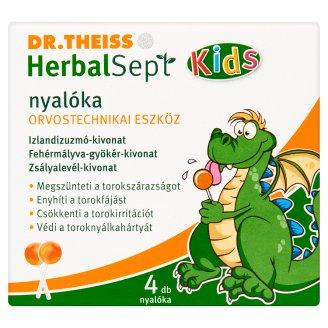Dr.Theiss HerbalSept Kids Lollipop 4 pcs