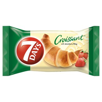 7DAYS Croissant with Strawberry Filling 60 g