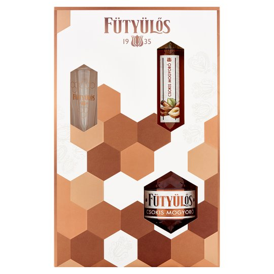 Fütyülős Chocolate Hazelnut Liqueur with Glass 30% 0,5 l