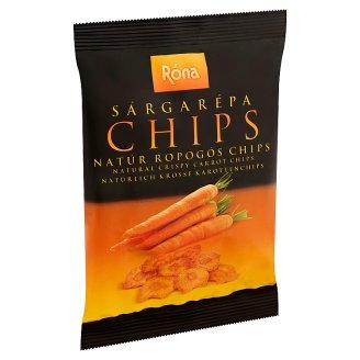 Róna natúr ropogós sárgarépa chips 40 g