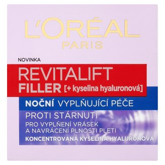 image 1 of L'Oréal Paris Revitalift Filler Anti-Wrinkle, Filling Night Cream 50 ml
