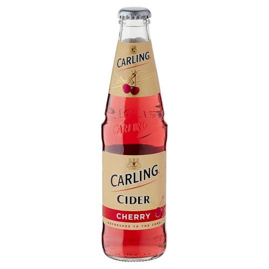Carling cseresznyés cider 4% 0,3 l