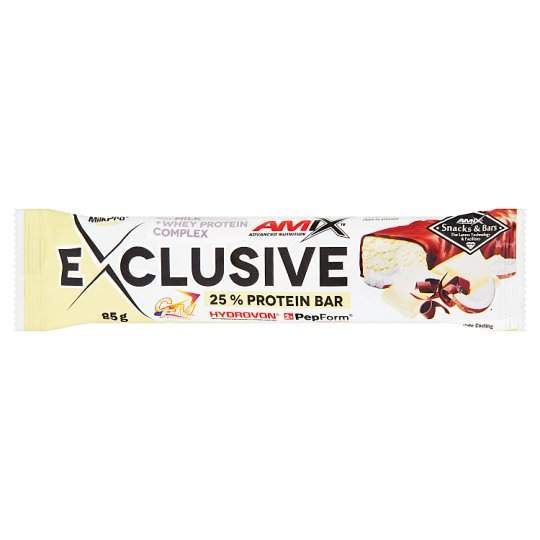 Amix Exclusive White Choco & Coconut Flavour Protein Bar 85 g
