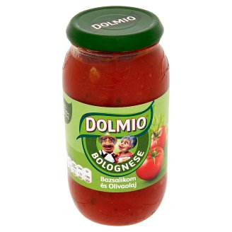 Dolmio Bolognese Sauce Base with Basil and Olive Oil 500 g