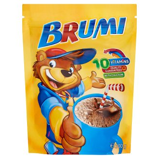 Brumi Instant Cocoa Drink Powder with Vitamins and Calcium 300 g