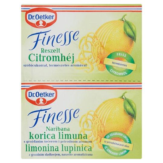 Dr. Oetker Finesse Grated Lemon Peel 2 x 6 g