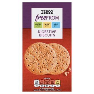 Tesco Free From Gluten-Free Digestive Biscuits 160 g