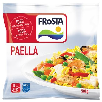 FRoSTA Quick-Frozen Paella Spanish Ready Meal 500 g