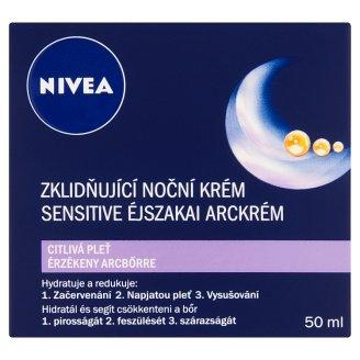 NIVEA Sensitive Night Face Cream for Sensitive Skin 50 ml