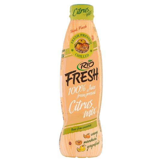 RIO FRESH Citrus Mix 100% vegyes gyümölcslé 750 ml