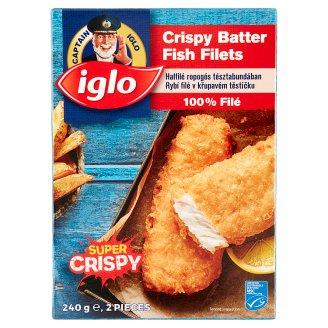 Iglo Fish Cuisine gyorsfagyasztott halfilé ropogós tésztabundában 240 g