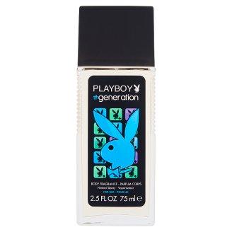 Playboy #generation hajtógáz nélküli pumpás parfüm dezodor férfiaknak 75 ml