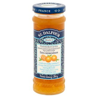 St. Dalfour Gyümölcsvarázs extra narancsdzsem 284 g