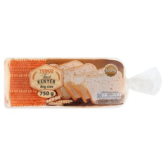 Tesco Big Size Toast Bread 750 g