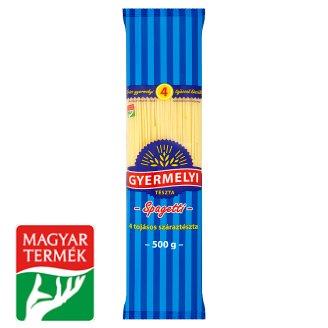 Gyermelyi spagetti 4 tojásos száraztészta 500 g