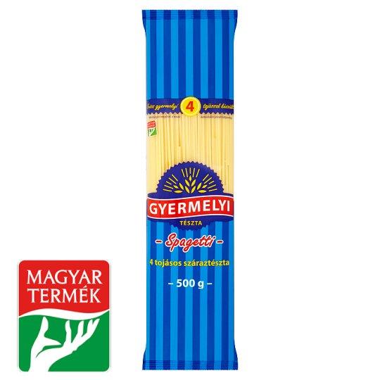 Gyermelyi Spaghetti Dry Pasta with 4 Eggs 500 g