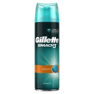 Gillette Mach3 Smooth Borotvazselé 200ml