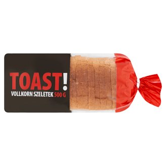 Toast! Vollkorn Slices 500 g