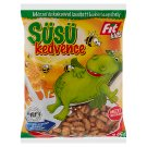 Fit Kids Süsü Kedvence Gluten-Free, Extruded, Honey and Cocoa Flavoured Corn Flakes 225 g