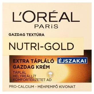 L'Oréal Paris Nutri-Gold Extra Nourishing Night Cream 50 ml