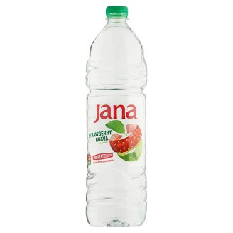 Jana Strawberry and Guava Flavoured Low-Energy Non-Carbonated Drink 1,5 l
