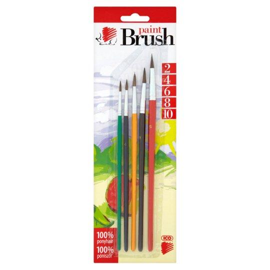 ICO Süni Paint Brush Set 5 pcs 2-4-6-8-10