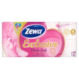 Zewa Exclusive Ultra Soft toalettpapír 4 rétegű 8 tekercs