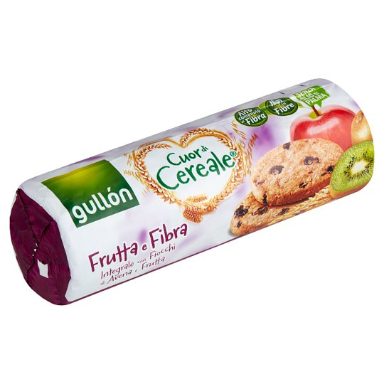 Gullón High in Fibre Cereal Biscuit with Fruits 300 g