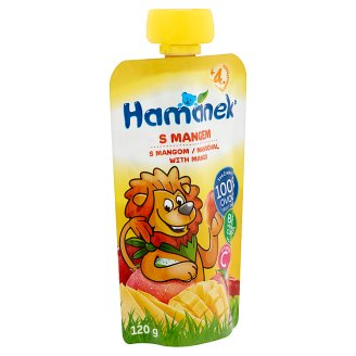 Hamánek Baby Food with Mango 4+ Months 120 g