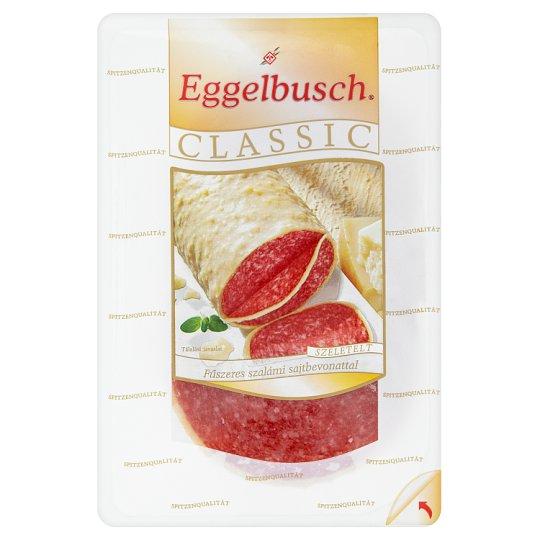 Eggelbusch Classic szeletelt fűszeres szalámi sajtbevonattal 100 g