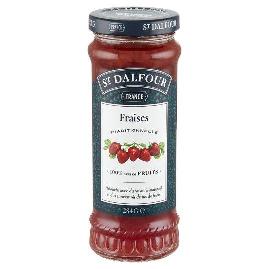 St. Dalfour Gyümölcsvarázs Extra Strawberry Jam 284 g