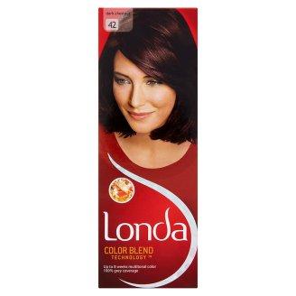 Londa Color Blend Technology 42 Dark Chestnut Permanent Hair Colour Cream