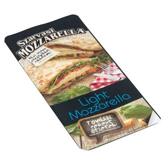 Szarvasi Sliced Light Pizza Mozzarella Cheese 100 g