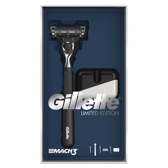 Gillette Mach3 Razor Gift Pack + Razor Stand