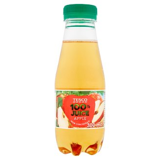 Tesco 100% Apple Juice 300 ml
