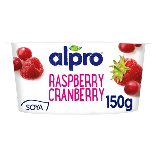 Alpro málna-vörösáfonya növényi alapú termék joghurtkultúrával 150 g
