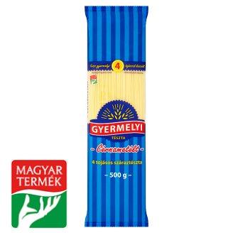 Gyermelyi Vermicelli Dry Pasta with 4 Eggs 500 g
