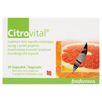 Fytofontana Citrovital Dietary Supplement Capsules with Grapefruit Core Extract 30 pcs