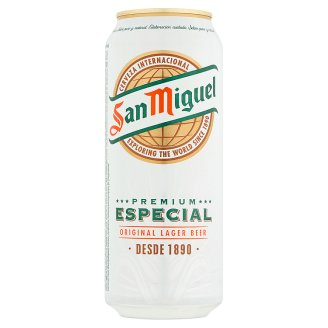 San Miguel Premium Lager Beer 5,4% 50 cl
