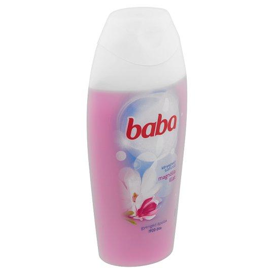 Baba kényeztető tusfürdő magnólia illattal 400 ml