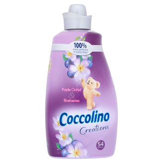 Coccolino Creations purple orchid & blueberries lila öblítő 1900 ml