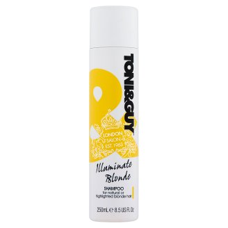 Toni&Guy Illuminate Blonde Shampoo for Natural or Highlighted Blonde Hair 250 ml