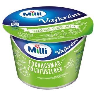 Milli fokhagymás-zöldfűszeres vajkrém 200 g